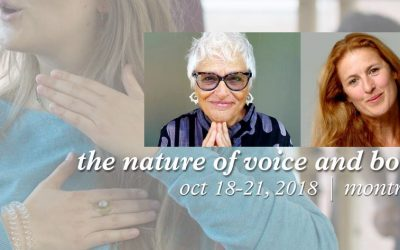 October 18-21, 2018 | The Nature of Voice and Body | Register now
