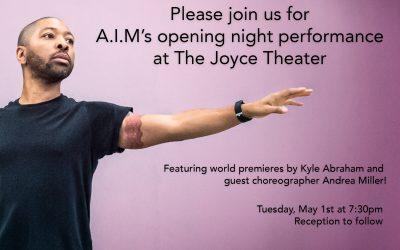 Margie Mentors Kyle Abraham